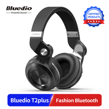 Bluedio T2plus (Shooting Brake) Bluetooth stereo headphones wireless 5.0 headset over the Ear
