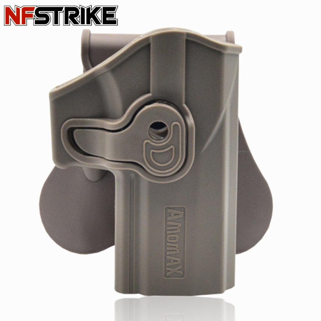 NFSTRIKE Amomax Adjustable Tactical Holster For Sig Sauer P320 Outdoors Tactics Accessories - Right-Handed Tan