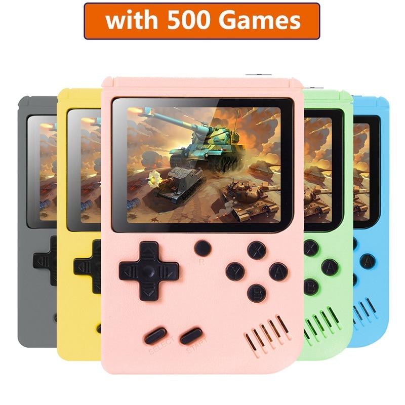 Console do jogo da criança do bolso 3.0 Polegada mini jogador de jogo handheld 8 bits consoles retro lcd console de jogos de vídeo para o miúdo crianças presente