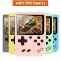 Pocket Child Game Console 3.0 Inch Mini Handheld Game Player 8 Bit Retro Consoles LCD Video Gaming Console For Kid Children Gift