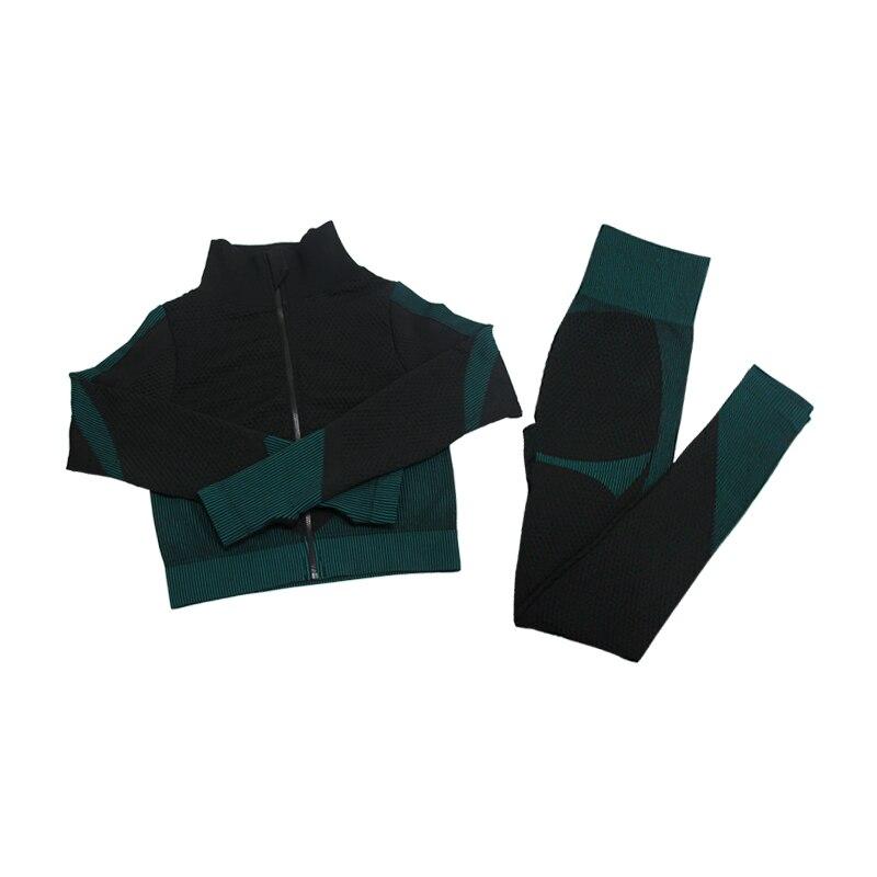 2pcs Dark Green