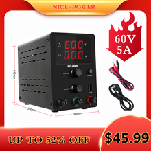 Digital Switching Current Stabilizer 30v 10a 60v 5a Adjustable Voltage and Vurrent Regulator DC Lab Power Supply For Phone(China)
