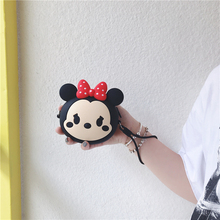 Cute Cartoon anime Zipper Bag Case Headphones Earphone Cable Earbuds Storage Soft Case Carrying Pouch Bag SD Card Hold Box