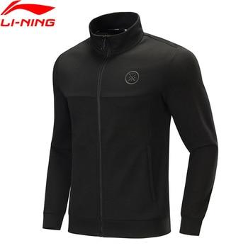Li-Ning Men Wade Series Sweater Regular Fit 82% Cotton 18% Polyester Hoodie Zipper Closure LiNing Sports Jackets AWDP433 MWW1599