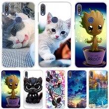 5.99'' Case For Asus Zenfone Max Pro M1 ZB602KL Case Slicon Cat Cute Funda Cover For Asus Zenfone Max Pro M1 ZB601KL Phone Cases все цены