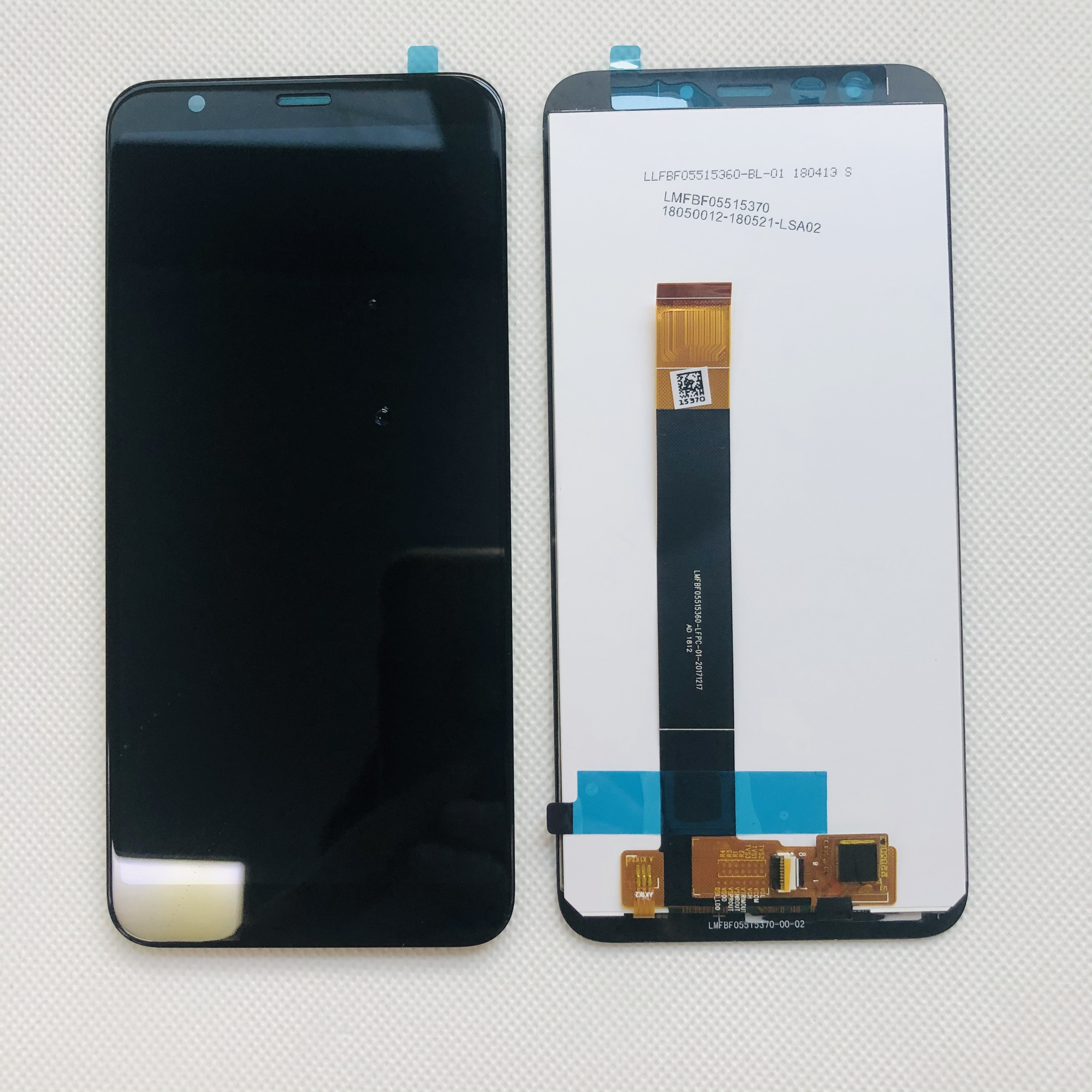 """Image 5 - Original Tested New For 5.45"""" Meizu M8C 8C M810H M809L LCD Display Screen With Frame+Touch Panel Digitizer For Meizu M8C DisplayMobile Phone LCD Screens   -"""
