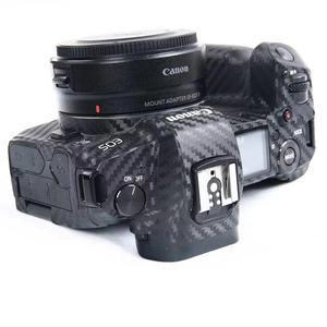 Image 3 - Korpus aparatu skóra ochronna naklejki z włókna węglowego Film dla Canon EOS R5 R6 800D 250D 200D 80D 90D 5Ds 5D III IV 6D II SL3 SL2 T7i