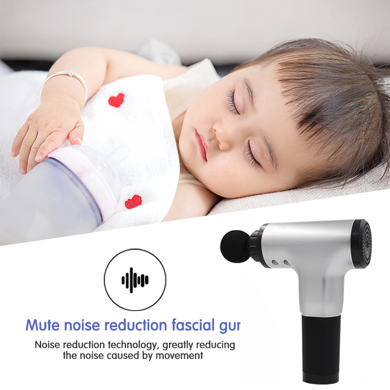 Dryer - Muscle Massage Gun Electric Body Massager Deep Vibration Pain Relief Shaping Muscle Relaxation Therapy Equipment Gun