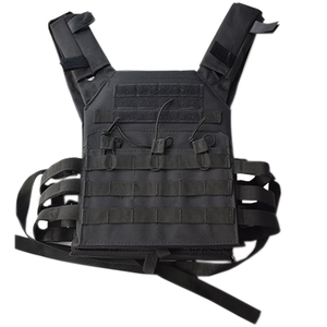 Image 2 - jpc 600D Hunting Tactical Vest Military Molle Plate Carrier Magazine Airsoft Paintball CS Outdoor Protective Lightweight Vest