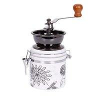 Manuelle Kaffeemühle Keramik Kern Kaffee Hand Mühle Coffeeware Kaffee Bohnen Pfeffer Spice Grinder Keramik Grinder Maschine-in Elektrische Kaffeemühlen aus Haushaltsgeräte bei