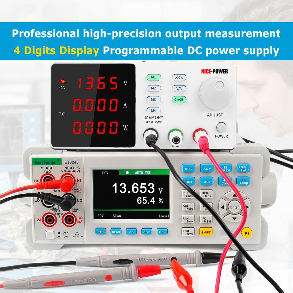 Programmable laboratory power feeding 30v 10a Lab Power supply unit for pc voltage regulator Precise adjustment Source 120V 3A-5