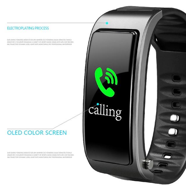 2 In 1 Smart Bracelet with Bluetooth  Earbuds HeartRate Monitor Waterproof Watch IJS998 2
