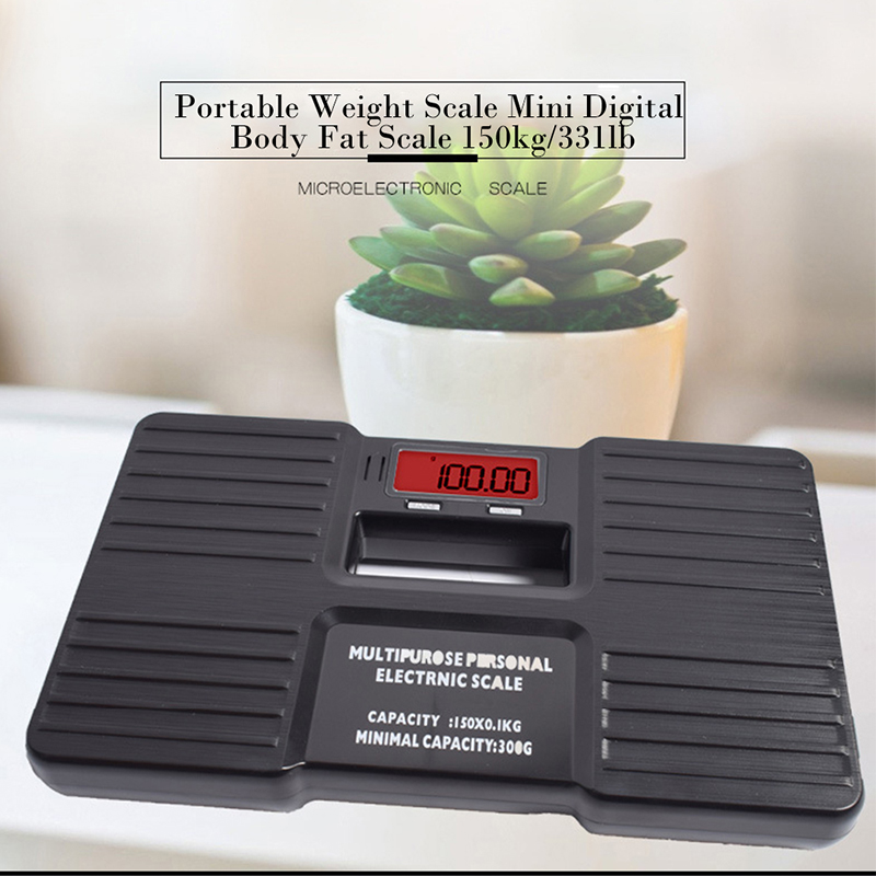 150kg 0,1 kg Digital Gewicht Waagen Persönliche Präzision Elektronische Bad Körper Boden Skala Tragbare Gesundheit Bad Balance