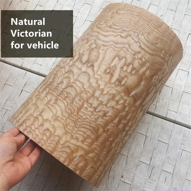 2x Natural Genuine Victorian Tasmania Wood Veneer Furniture Decorative Veneer Backing With Paper 0.25mm