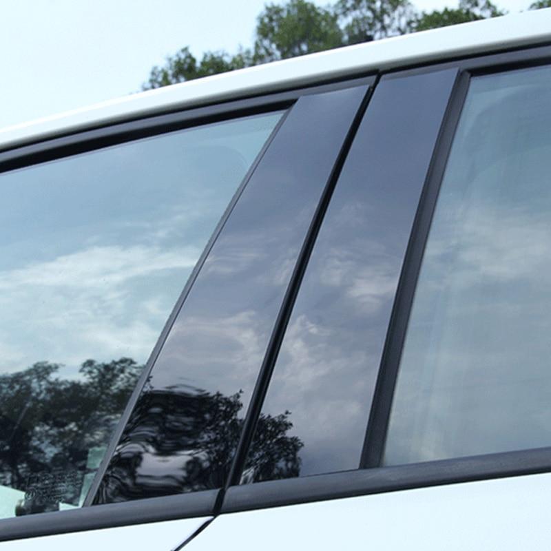 כורסאות טלויזיה · ערכה לרכב דלת חלון Pillar הודעות פסנתר Trim כיסוי קיט Fit עבור קאיה K2 K3 K4 K5 CERATO KX3 KX5 2005 06 07 08 09 10 11 12 13 19 (3)