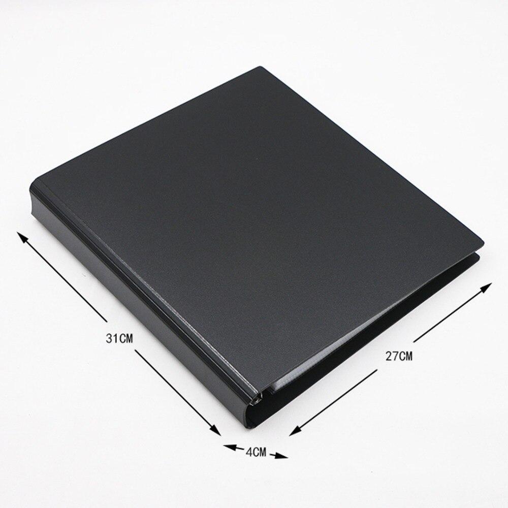 30 черных страниц 270 карманная торговая игра карты настольная игра альбом игральные карты держатель Альбомы для Pokemen CCG MTG Yugioh
