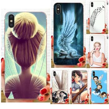 Sweet Tinker-bell Soft Accessories Pouches For Xiaomi Redmi Mi 4 7A 9T K20 CC9 CC9e Note 7 8 9 Y3 SE Pro Prime Go Play image