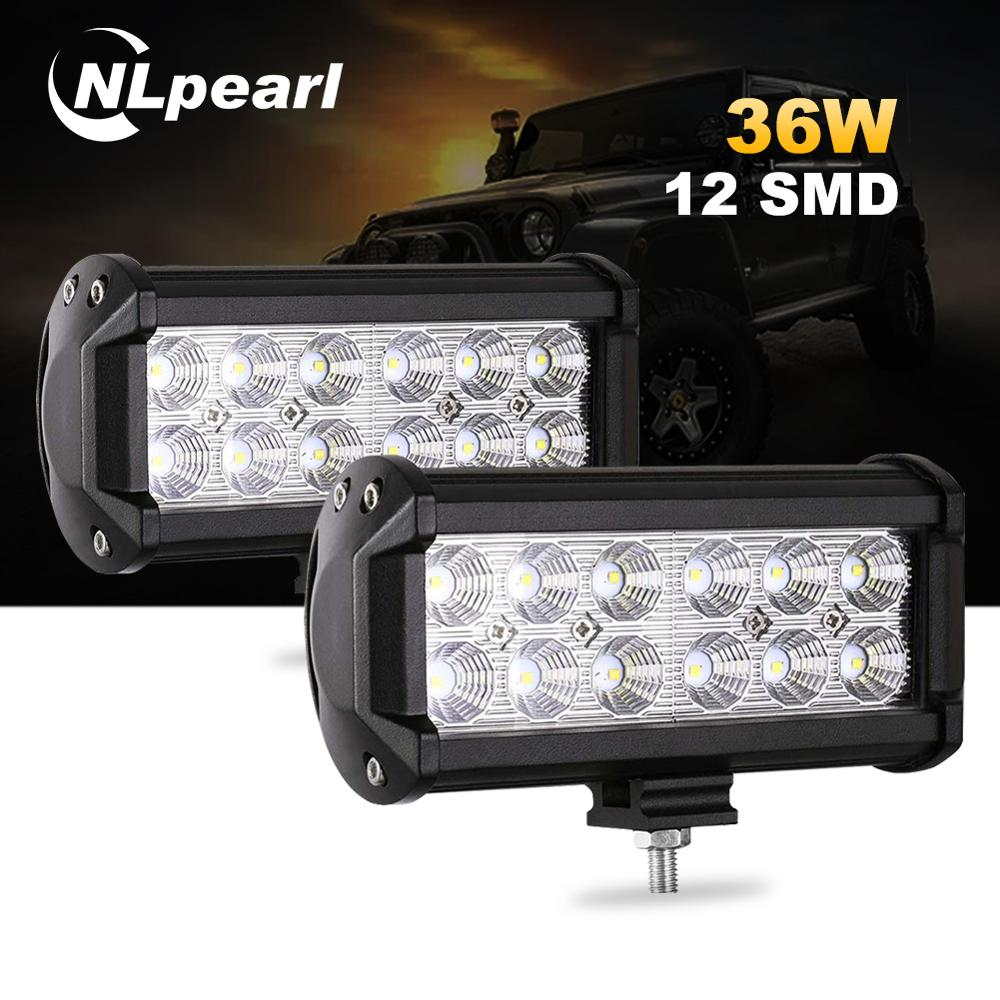 "10PCS 4/"" 27W Round LED Work Light Off road LED Light Bar Driving Light Comanche"
