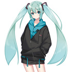 Anime Vocaloid Hatsu...