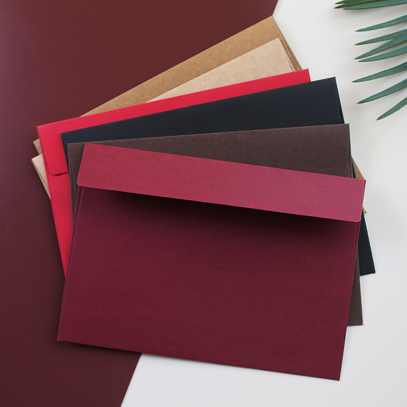 20pcs/lot Large Size 160mm X 230mm Envelopes Paper Bags Stationery Set Gift Post Card Scarf Storage Envelopes