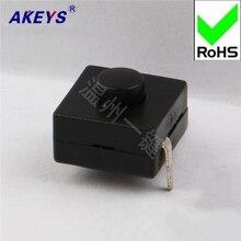 10 PCS YT-1212-112A flashlight switch Wenzhou button self-locking