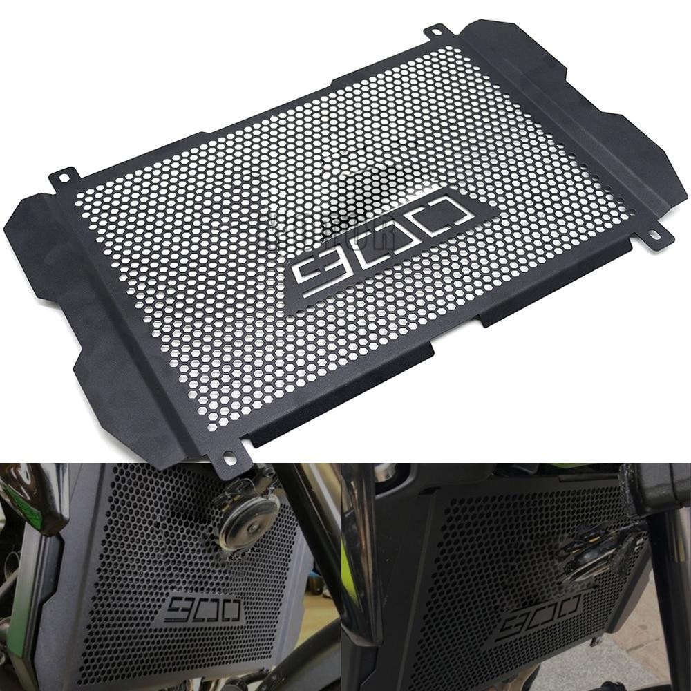Motocicleta Z900 Grade de Radiador Guarda Capa Protector Para Kawasaki 2017-2019 2018 Z 900 Acessórios Do Motor Proteção Tanque Rede
