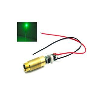 Industrial 532nm 200mW 3.7-4.2V Green Laser Dot Module Diode w/ Driver & Spring 532nm 50mw green laser 650nm 200mw red laser dot module 12v w driver