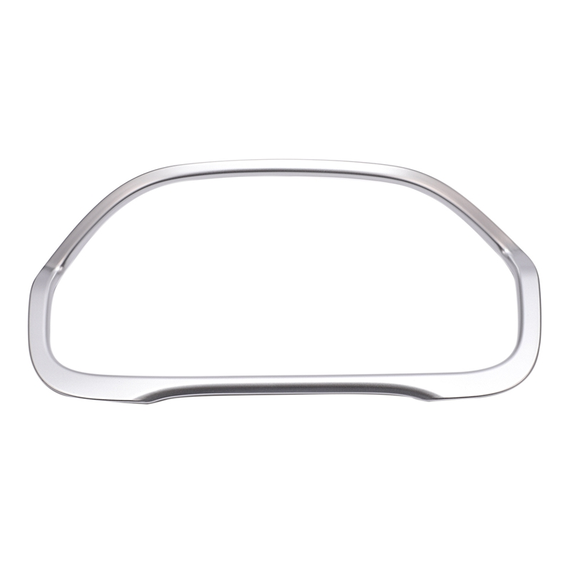 Car Styling Central Console Dashboard Panel Decorative Frame Cover Trim for Honda CRV CR V 2012  2015 2016 ABS Silver|Instrument Clusters| |  - title=