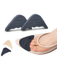 1 Pair Women High Heel Half Forefoot Insert Toe Plug Cushion Pain Relief Protector Big Shoes Toe Front Filler Adjustment(China)