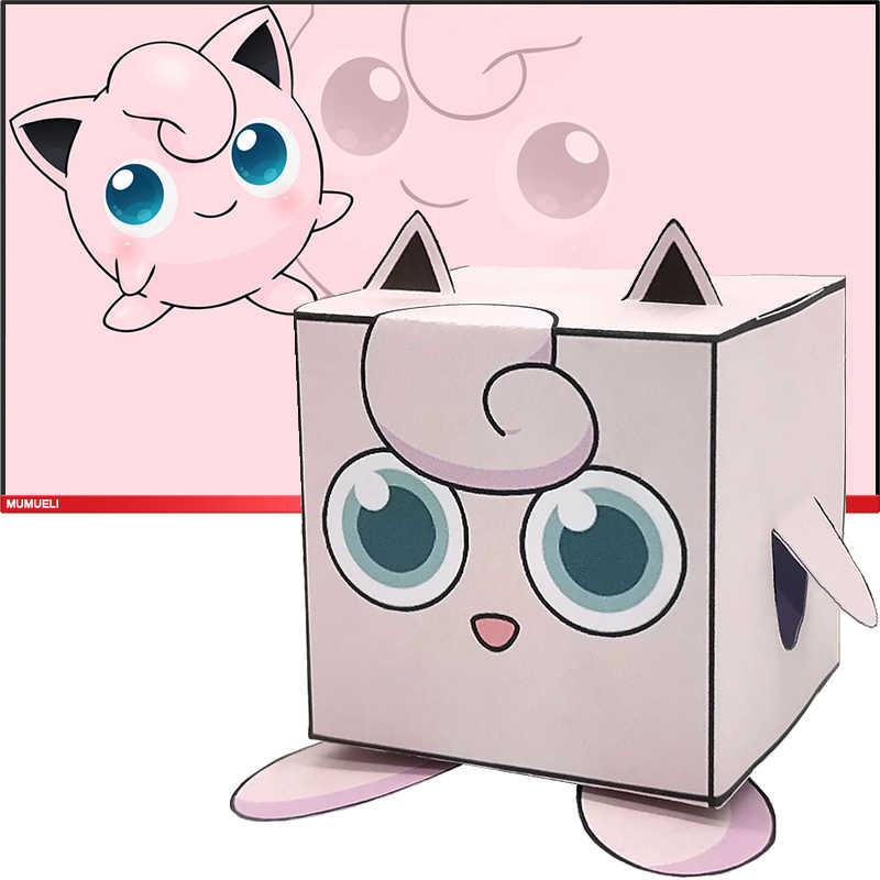 Used 3d origami Jigglypuff for sale in Round Lake - letgo   800x800