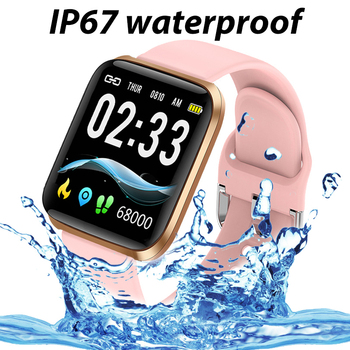 LIGE New Smart Watch Women Heart Rate Blood Pressure Monitoring Fitness Tracker Is Suitable For Android IOS Ladies Smart Watches 6