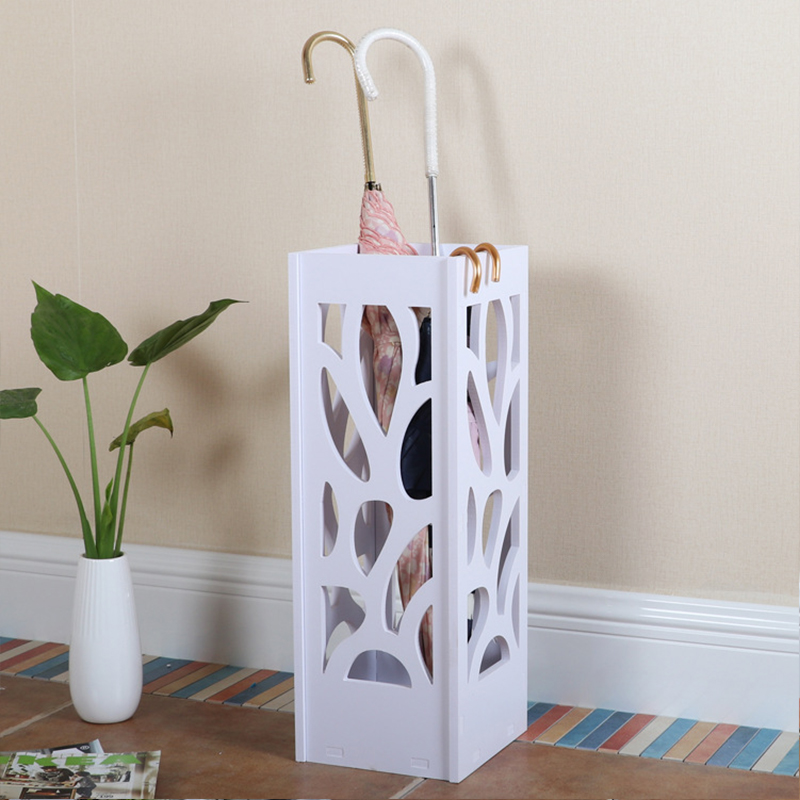 Umbrella Stand Home Decor WPC Board Japanese Styling Storage Korean White Modern Umbrella Holder