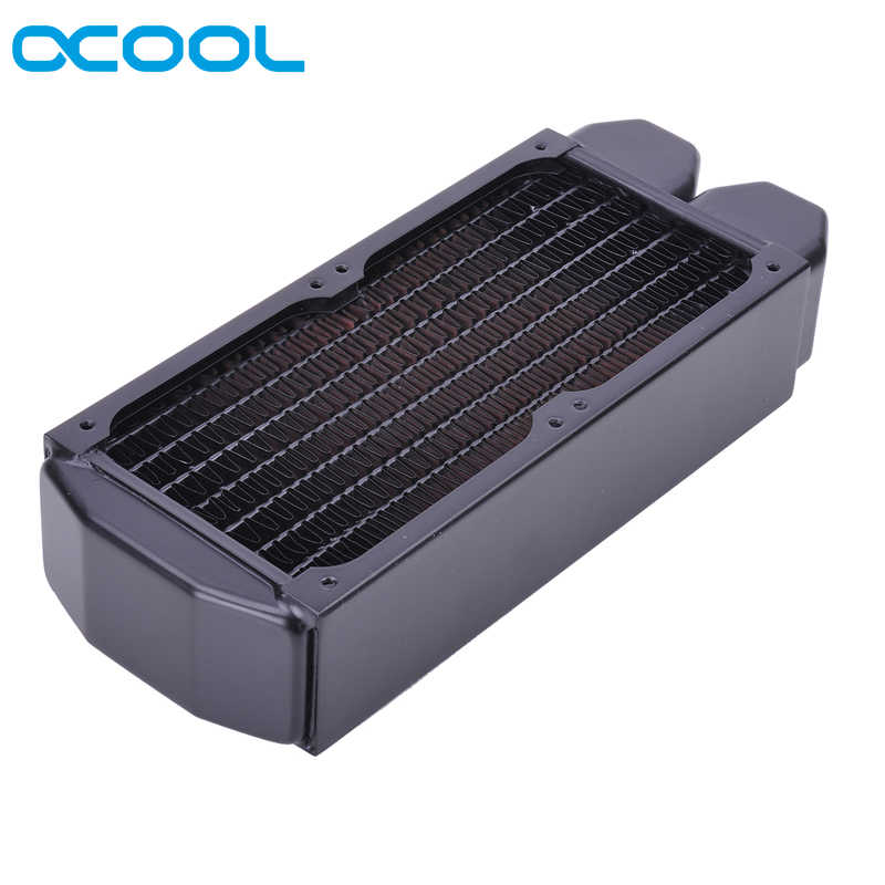 Originale Alphacool NexXxoS XT45 2*80 millimetri 160 millimetri di Acqua di Raffreddamento Pieno di Rame Radiatore di raffreddamento Del Computer Cooler Master