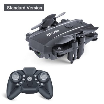 Mini Folding Drone Aerial Photography Wifi Four-Axis Aircraft Remote Control Helicopter Cross-Border Toys 2018 new helicopter x5c aircraft four axes drone aircraft wifi real time remote control shipping from russia