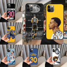 Phone-Case-Cover Basketball-Player Stephen Curry iPhone 5 for 5S 6/6s-plus/7/.. MAX Black