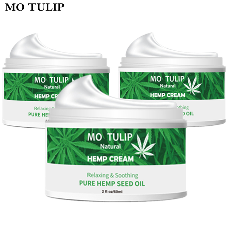 Hemp Oil 60ml  Essence Face Cream Hyaluronic Acid Anti-aging Moisturizer Nourishing Collagen Essence Skin Care Cream