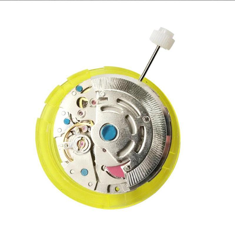 Movimento de Quartzo Calendário de Luxo da Marca dos Homens Relógio de Alta Ponto Metal Relógio Automático Mecânico Grande Qualidade Acessórios 3 8215
