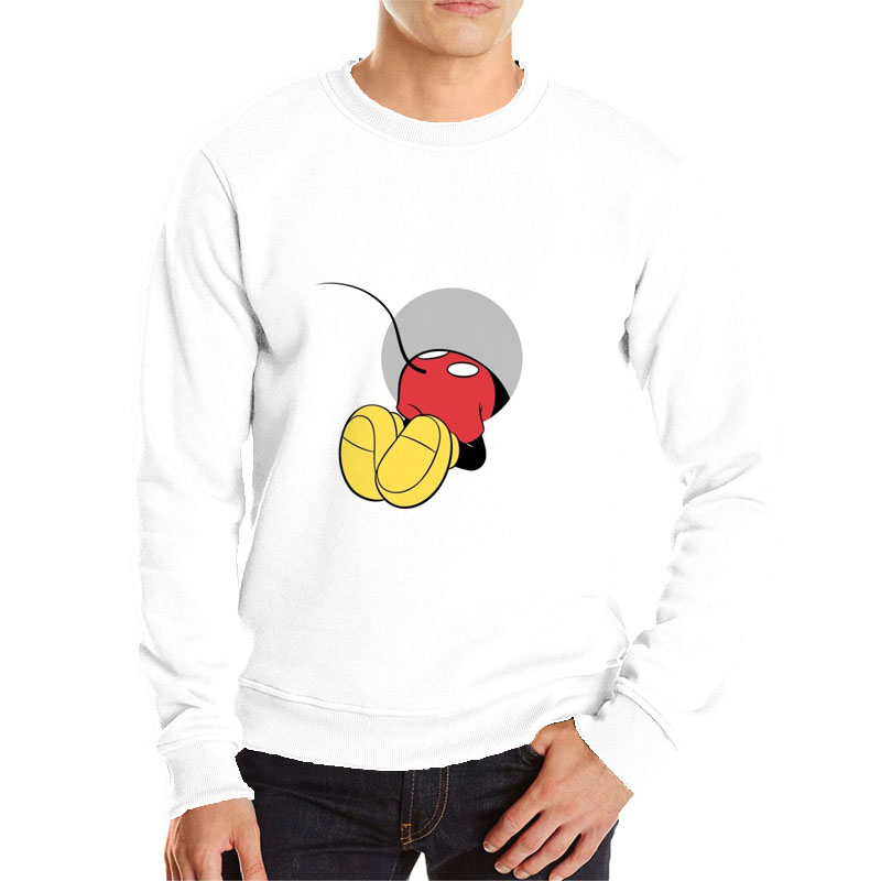 Funny Mickey Hoodies Harajuku Sweatshirt Popular Cartoon Men Hoodies Sweatshirts Polerones Sweat Homme Anime Hoodie Men
