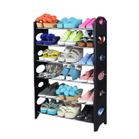 6 \ 4 Tiers Practical Shelf Shoes Shoe Rack Storage Adjustable Home Bathroom Organizer Stand Cupboard Tower Dropshipping Fashion
