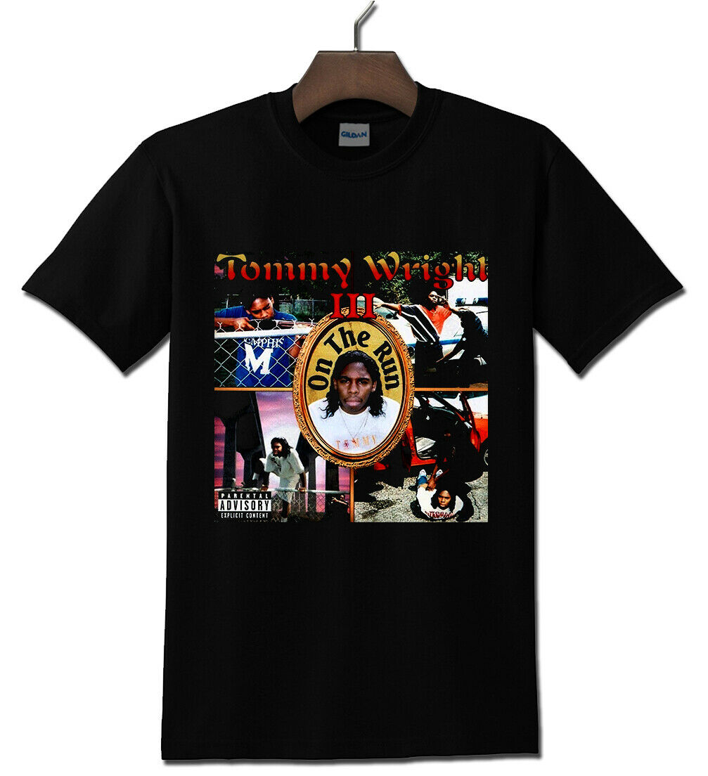 Tommy Wright Iii - 1990S Memphis Hip Hop Legend Black T Shirt S-3Xl