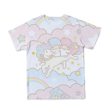 2021 novo quente 3d chid kawaii camiseta dos desenhos animados impressão animal rosa camisetas meninos/meninas/bebê tshirt crianças roupas tamanho 4t-14t