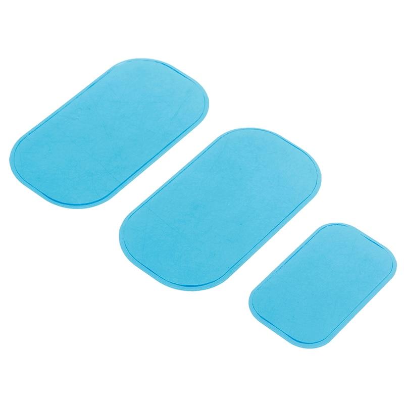 3 teile/satz Fitness Abnehmen Gel Pad Bauch Massage Maschine Aufkleber Hydrogel Paster Für Körper Massage