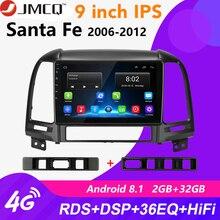 купить Android 8.1 9 2din Car Radio For Hyundai Santa Fe 2 2006-2012 2+32G RDS DSP Multimedia Stereo Audio Player GPS Head Unit 2 DIN дешево