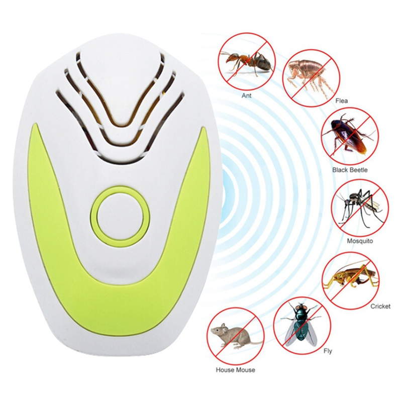 Ultrasonic Rat And Insect Repeller Pest Control Tool Indoor Pest Repellent Household Anti Bug Mole Mouse Tool Q1