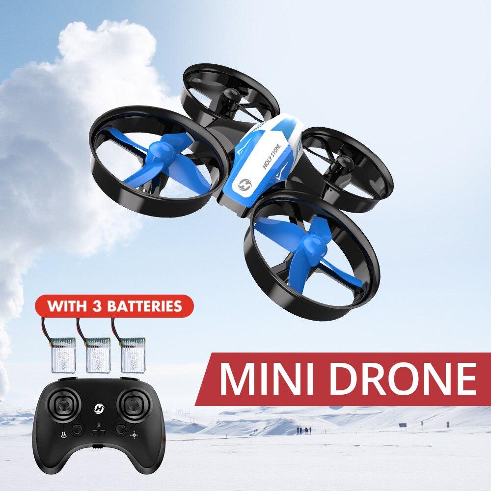 Heiligen Stein HS210 Mini Drone Jungen Spielzeug Headless Drohnen Mini RC Quadrocopter Quadcopter Eders One Key Land Auto Schwebt Hubschrauber