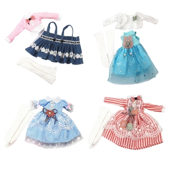 Exquisite Doll Clothes Handmade High Quality Accessories For Barbi Blyth 30cm