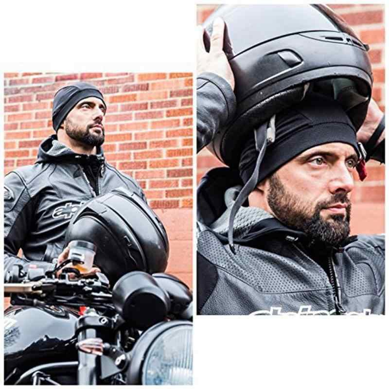 Casco Moto kask motocyklowy wewnętrzna czapka Coolmax kapelusz szybkoschnący oddychający kapelusz czapka z motywem wyścigów pod kask czapka czapka sportowa