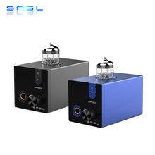 SMSL SP100 TUBE Headphone Amplifier 6N3 12V Hi-Res Audio Tube Amplifiers With 6.35mm Headphone 2016 new smsl t1 multi function decoder headphone amplifier with preamplifier