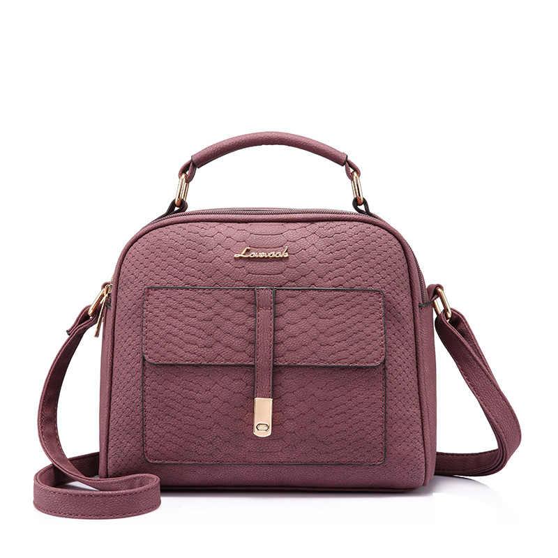LOVEVOOK kecil bahu tas selempang untuk wanita fashion tas wanita dengan atas pegangan tas messenger wanita mewah desainer