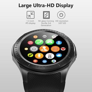 "Image 3 - NEW DM368 Plus Android 7.1 4G Smart Watch MTK6739 Quad Core 1GB Ram 16GB Rom 1.3"" IPS Round Screen Bluetooth Wifi GPS Smartwatch"